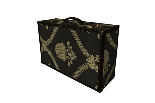 LENNON Morris Wallpaper Vintage Style Suitcase: Lennon GR, luggage suitcase hard-sided storage, AM Florence, AMFlorence