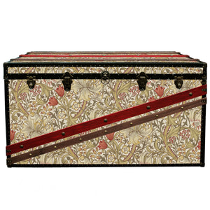 MORRIS Wallpaper Coffee Table Steamer Trunk: Morris GLBB