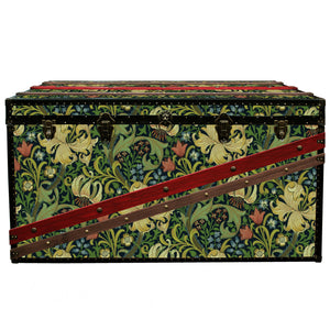 MORRIS Wallpaper Coffee Table Steamer Trunk: Morris GLIN