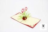 Lotus Vase Pop Up Card