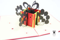 Birthday Gift Pop Up Card