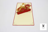 Dragon Palace Pop Up Card