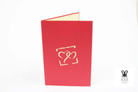 Dancing Wedding Couple Pop Up Card