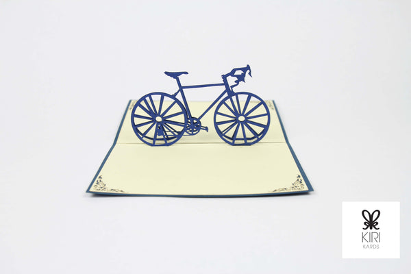 Classic Bicycle Pop Up Card