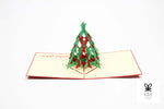 Layered Christmas Tree Pop Up Card