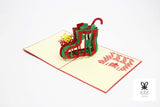 Christmas Stocking Pop Up Card