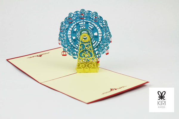 Ferris Wheel Pop Up Card