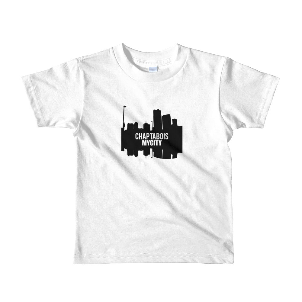 Chapta-City Chaptabois My City Short Sleeve T-Shirt for Boys