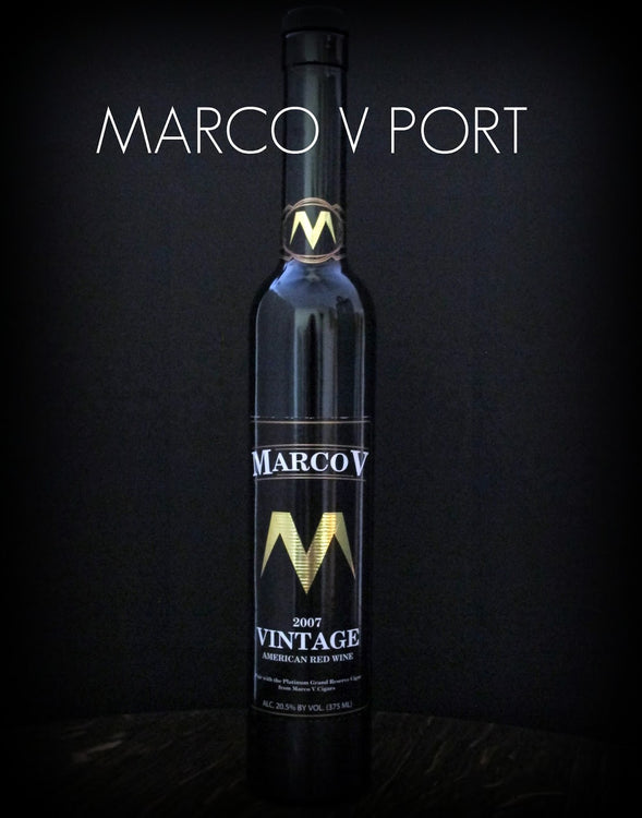 Marco V Port at the Chateau St. Croix