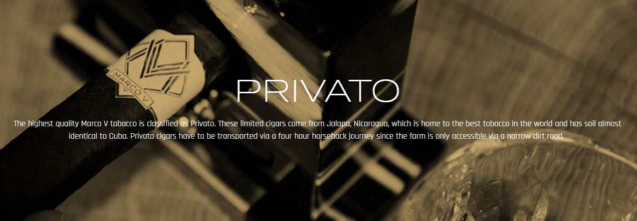 Marco V Privato Line Launching in October 2019
