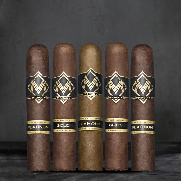 Marco V Cigars Holiday Gift Pack- Includes Cutter & Fire