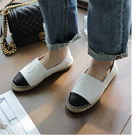 Moccasins leather Flats shoes