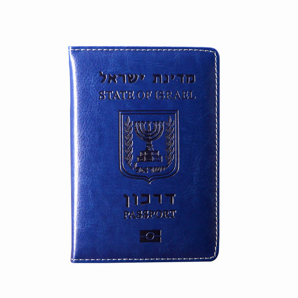 Israel  Covers for Passports Travel/ Wallet Pu Leather Fashion
