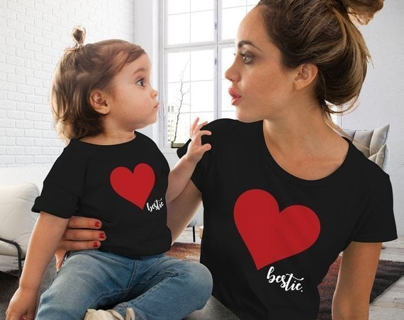 Mommy and I Heart T-Shirt