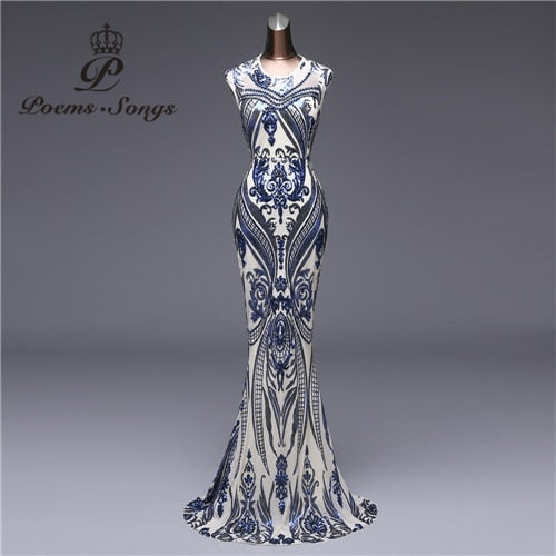 Poems Formal Evening Dress