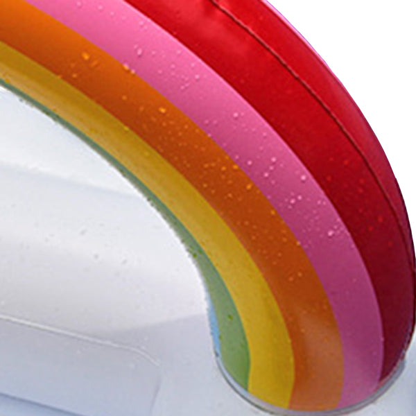 Rainbow Cloud Drink Holder Beach Party