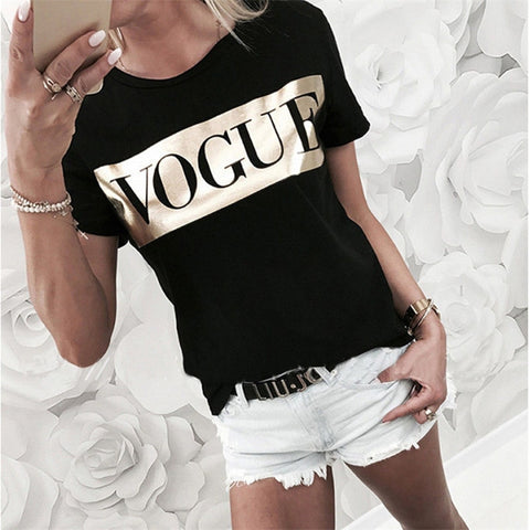 Women's VOGUE Print T-shirt 2019