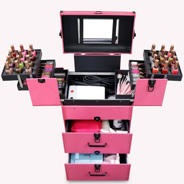 Multilayer Cosmetic Case / Makeup artist