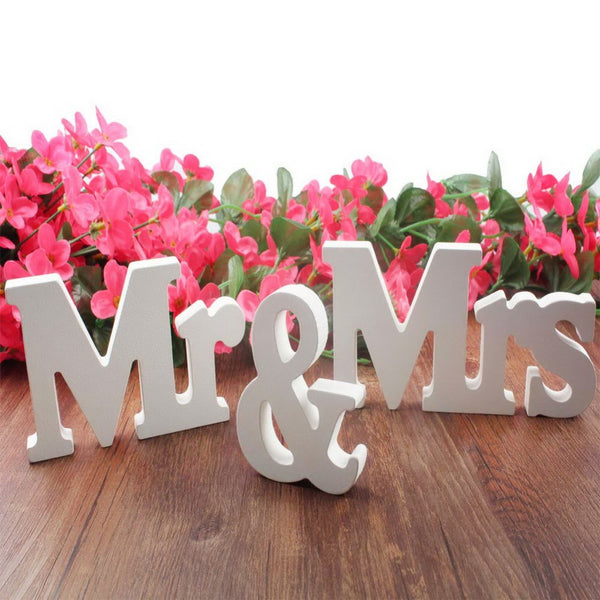 Mr & Mrs romantic mariage