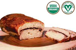 Organic Sweet Sourdough Cinnamon Bread 16oz