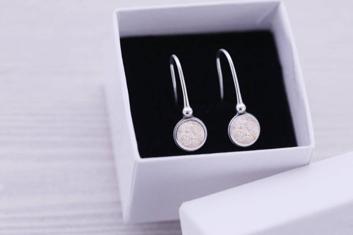 Cremation Earrings - Sterling Memorial Earrings for Ashes - Cremation Jewelry - Engraved Jewelry - Urn - Pet Memorial - Ash Earrings