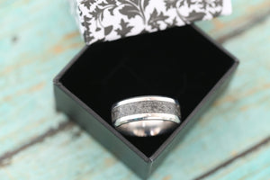Cremation Band Ring - Stainless Cremation Ring - Cremation Jewelry - Ash Ring - Ash Jewelry - Urn Ring - Urn Jewelry - Pet Loss