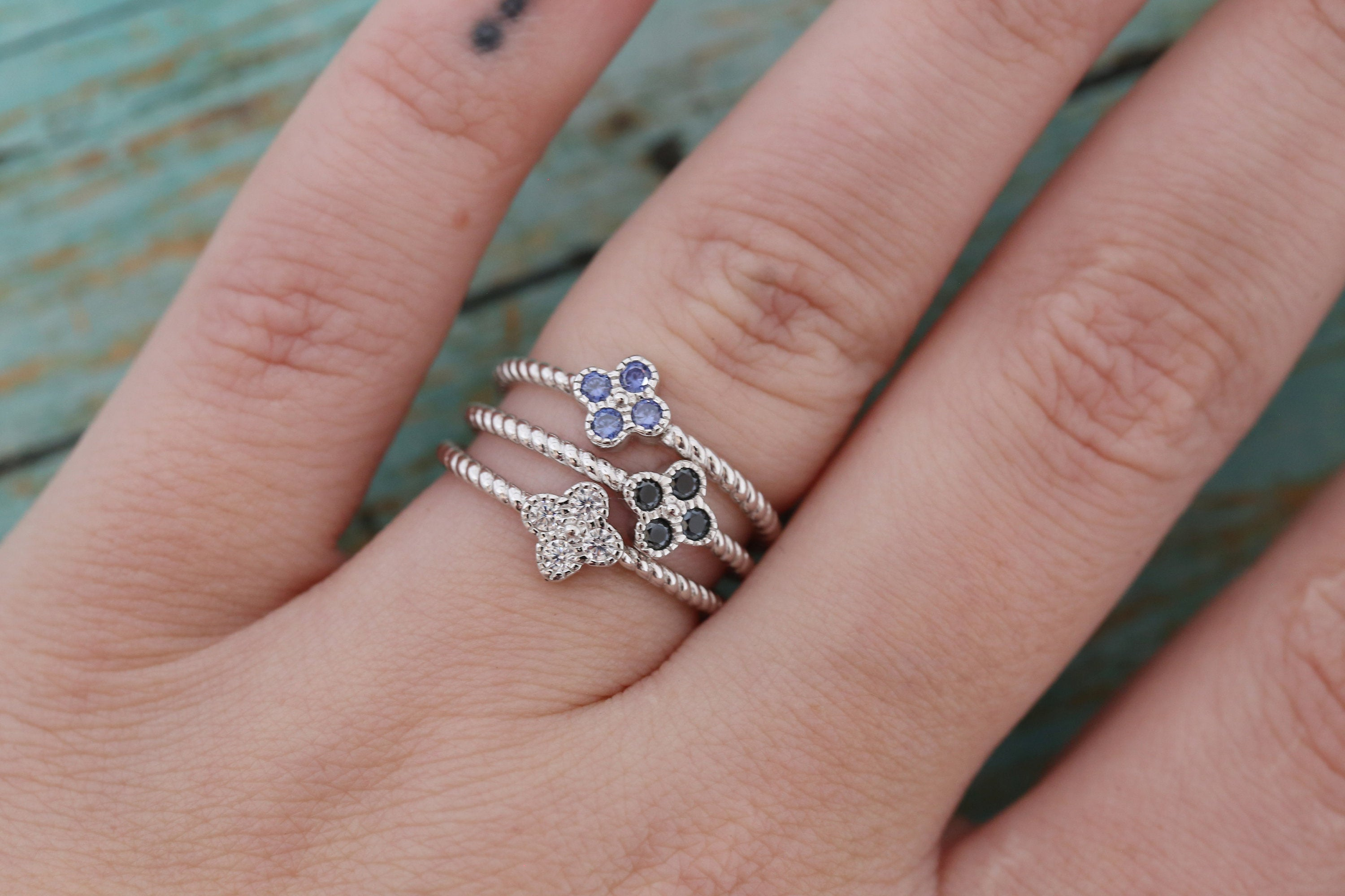 Cremation Ring - Sterling Silver October Birthstone Flower Ring - Cremation Jewelry - Ash Ring - Ash Jewelry - Urn Ring - Pet Loss
