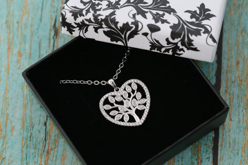 Cremation Ash Pendant - Family Tree Pendant - Cremation Jewelry - Ash Necklace - Ash Jewelry - Urn - Urn Jewelry - Pet Loss