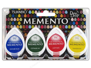 "Ideas y Colores - Sets 4 Tintas ""Memento"" Camp Fire"