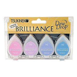 "Ideas y Colores - Sets 4 Tintas ""Brilliance"" Jewel Tone"