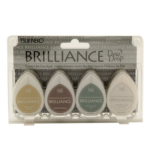 "Ideas y Colores - Sets 4 Tintas ""Brilliance"" Earth Tone"