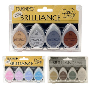 "Ideas y Colores - Sets 4 Tintas ""Brilliance"""