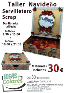 Ideas y Colores - Curso Scrap Navideño 30 Nov