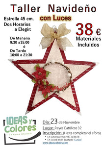 Ideas y Colores - Curso Navideño 23 Nov