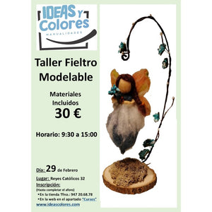 Ideas y Colores - Curso Fieltro Modelable 29-2-2020