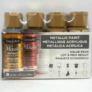 Ideas y Colores - Set de 8 Americanas (Dzaaling Metallics)