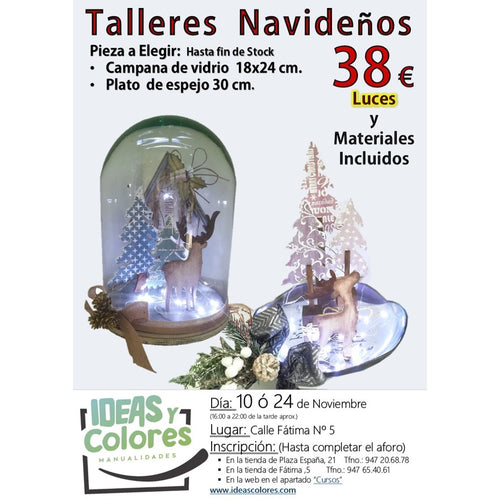 Ideas y Colores - Curso Navideño 24 Nov