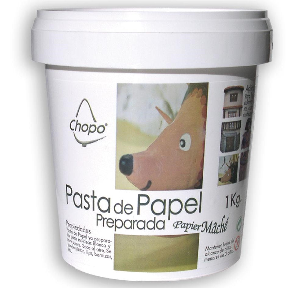 Ideas y Colores - Pasta de Papel