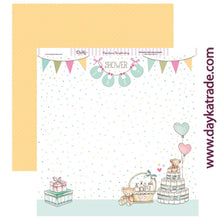 "Ideas y Colores - Papeles ""Voy a ser Mamá"" 30x30 Baby shower"