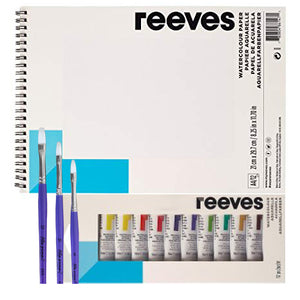 Ideas y Colores - Set de Regalo Reeves Acuarela