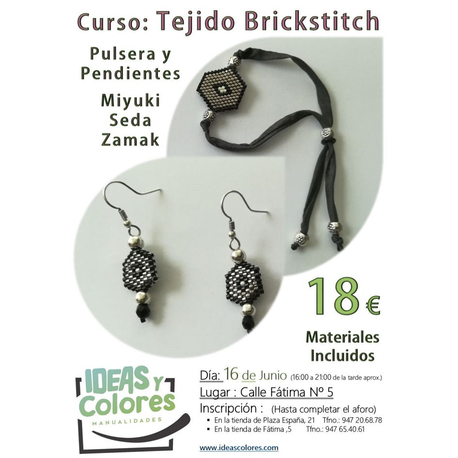 Ideas y Colores - Curso de Tejido Brickstitch