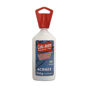 "Ideas y Colores - Cola Jeans ""Acrilex"" 100 gr."
