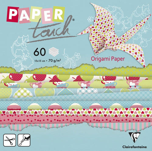 Ideas y Colores - Papel Origami Decorado 15x15