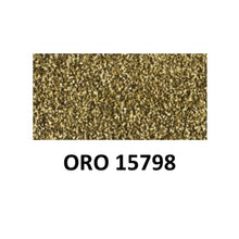Ideas y Colores - Pastas Relieve Textil Glitter Oro