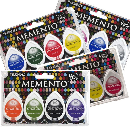 "Ideas y Colores - Sets 4 Tintas ""Memento"""