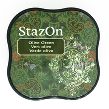 "Ideas y Colores - Tintas ""StazOn Midi"" Verde Oliva"