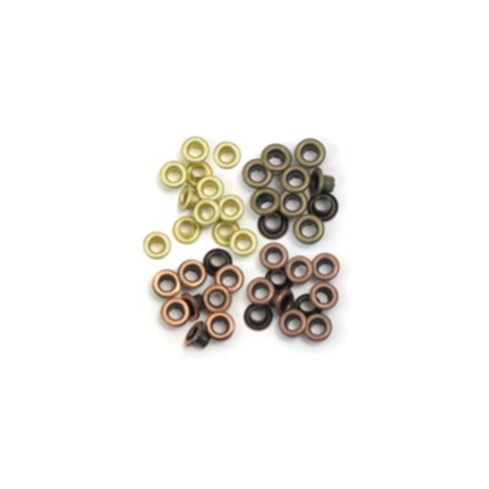 Ideas y Colores - Sets Ojales Standard (Eyelets) Metal Caliente 41583-1