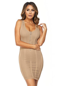 Guilty Pleasure Dress - Nude