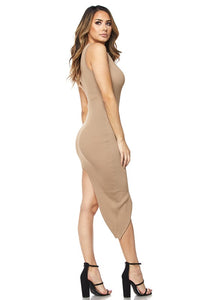 Say My Name Dress - Mocha