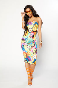 Marilyn Dress - Multi